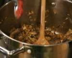 Супа с телешко и гъби 6