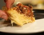 Пай със спагети 11