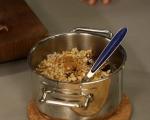 Карамелени ябълки с ориз 3