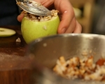 Карамелени ябълки с ориз 4