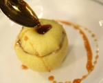 Карамелени ябълки с ориз 7