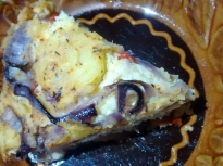Картофена мусака с просо