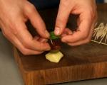 Предястие от ньоки, домати и маслини 6