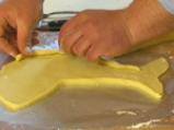 Сьомга в тесто