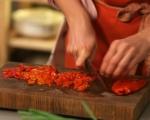 Печени филийки с шунка и пармезан 2