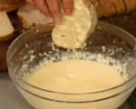 Печени филийки с шунка и пармезан 3