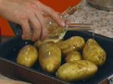 Супа от печени картофи