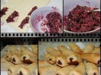 Бутерки с вишни и шоколад