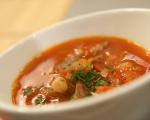 Супа с нахут и чоризо 5