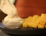 Качамачени пръчици с майонезен сос 7