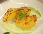 Смачкани картофи със сос от авокадо и чесън 5