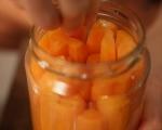 Бърза туршия от моркови 2