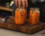 Бърза туршия от моркови 5