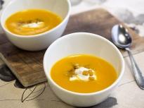 Крем супа от целина и моркови