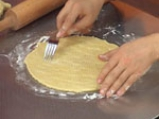 Торта с ягодов крем карамел 6