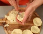 Кардамонени хлебчета с крем от марципан (Семла) 6