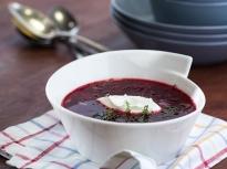 Супа от печено цвекло