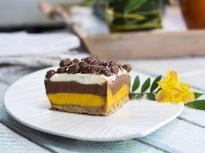 Десерт с тиква и шоколад