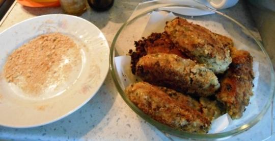 Зеленчукови крокети с плънка