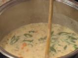 Супа от овесени ядки и бекон 4