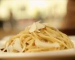 Спагети с кайма и маслини 8
