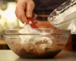 Орехова торта с мока крем 5