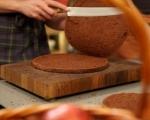 Орехова торта с мока крем 8