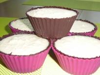 Шоколадови кошнички с кокос