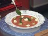 Студена доматена супа с мариновано овче сирене 4