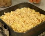 Ябълков сладкиш с крем сирене 11