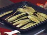 Агнешки шишчета с топла салата от патладжан 3