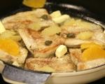 Риба с цитрусов сос и каперси 5