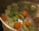 Яхния с агнешко и тиквички 2