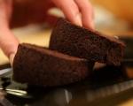 Постен шоколадов кекс 4