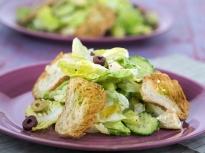 Зелена салата с маслини