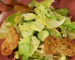 Зелена салата с маслини 7