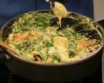 Рибен пай с грах и спанак 6