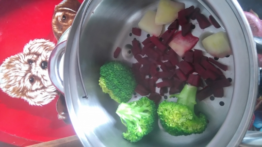 Зеленчуково пюре