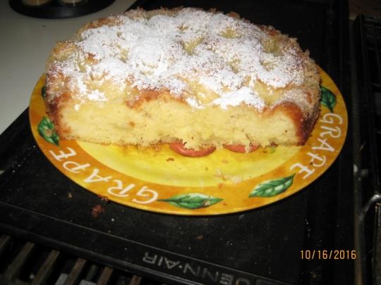 Захарен пирог