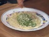Спагети с песто от рукула 4