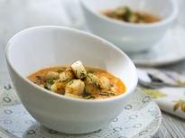Доматена супа с риба