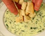 Спаначена супа със сирена 6