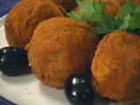 Пилешки кюфтенца с маслини 3