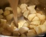 Супа от гулия и миди 5