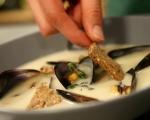 Супа от гулия и миди 9