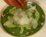 Картофена супа с коприва и пюре от грах 7
