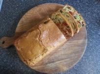Ароматен хляб със сушени домати, масл...