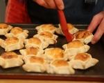 Сардински сладки с рикота (пардула) 6