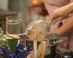 Боб чорба с тиквички и маслини 2