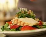 Салата с пилешко и ягоди 7